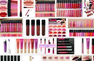 Liquid Lipstick (matte & glossy) - on Amazon