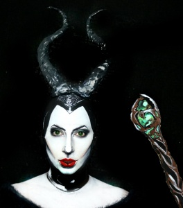 Maleficent Makeup - Sarah Magic Makeup