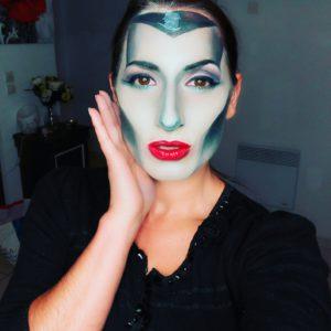 Maleficent makeup tutorial