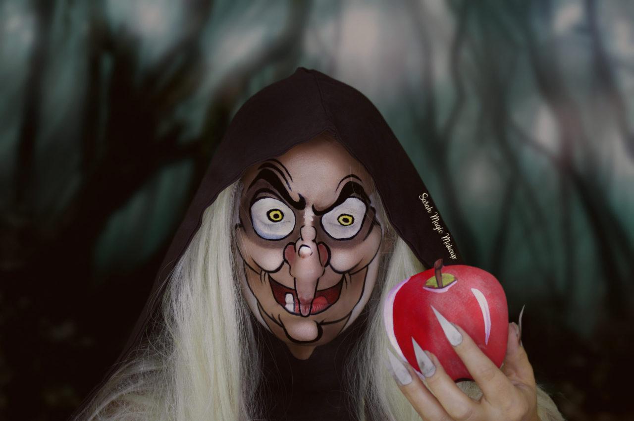The Old Hag Makeup Snow White Sarah