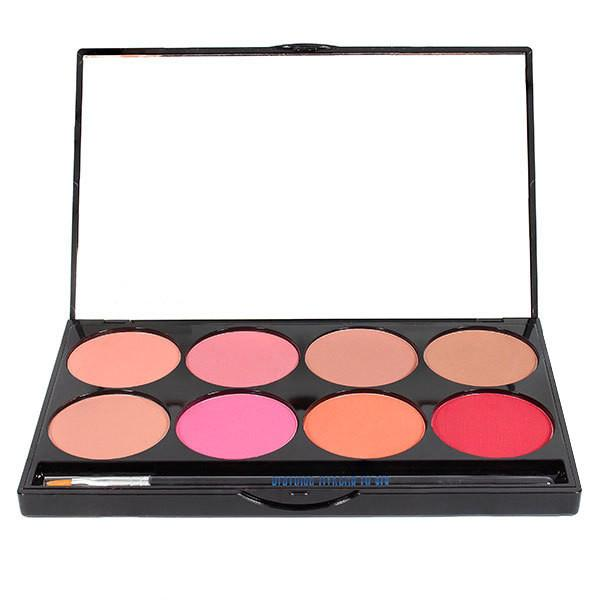 Mehron Cheek Powder 8-Color Blush Palette Image