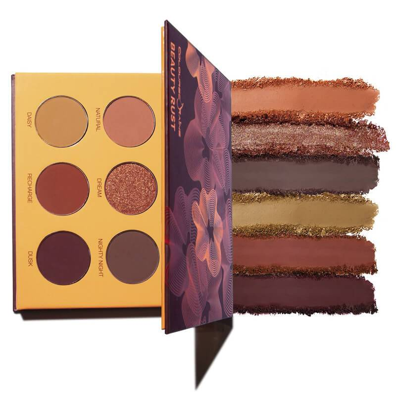 Coloured Raine Beauty Rust Eyeshadow Palette Image