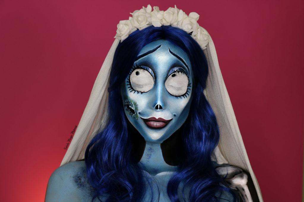The Corpse Bride Makeup